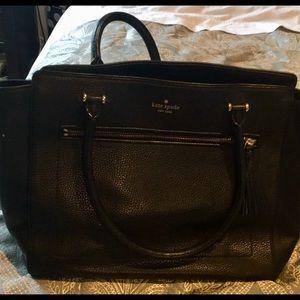 Black Kate Spade purse (Large)